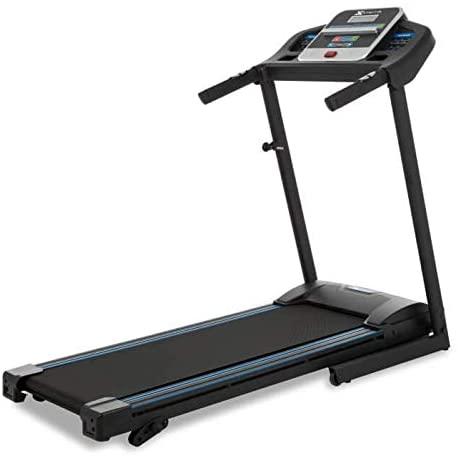 1.XTERRA Fitness TR150 Folding Treadmill Black