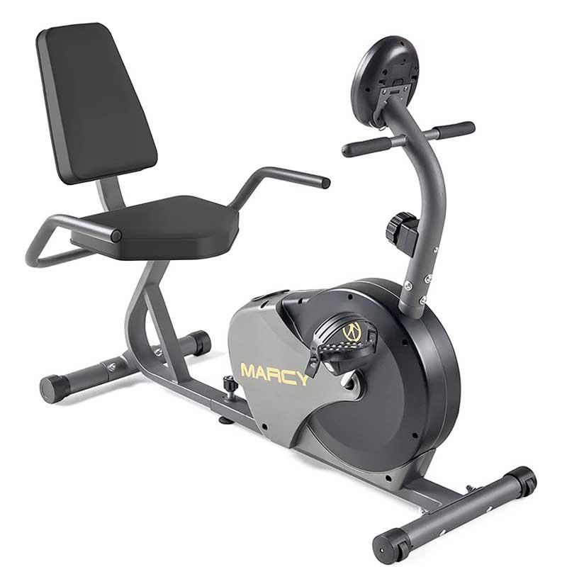 2.Marcy-Magnetic-Recumbent-Bike